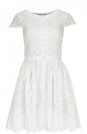 Платье Alice + Olivia. Цвет: кремовый