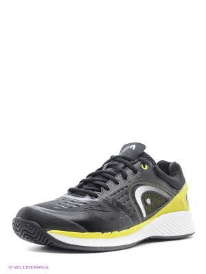 Кроссовки Sprint Pro Men HEAD. Цвет: черный, белый, зеленый