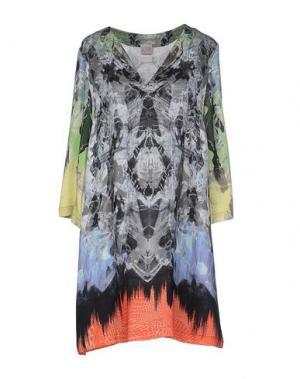 Короткое платье HANNE BLOCH. Цвет: серый