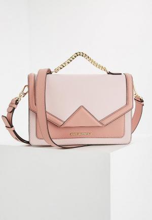Сумка Karl Lagerfeld. Цвет: розовый