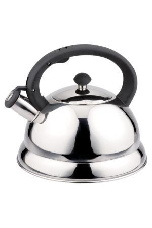 Чайник металлический 2,6 л Bekker. Цвет: серебристый