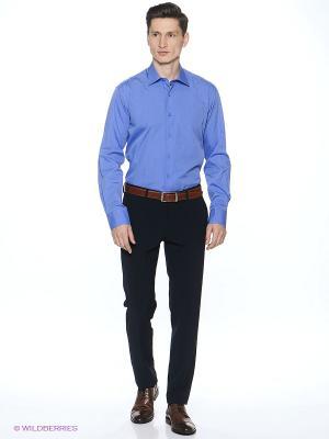 Рубашка Barkland. Цвет: голубой