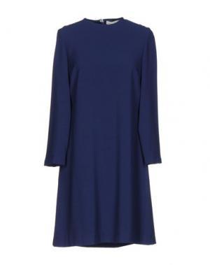 Короткое платье TROU AUX BICHES. Цвет: темно-синий