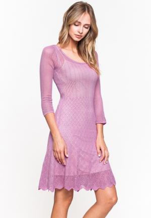 Платье Jacote. Цвет: розовый