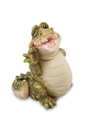 Фигура Крокодил Ловкач Sealmark. Цвет: зеленый