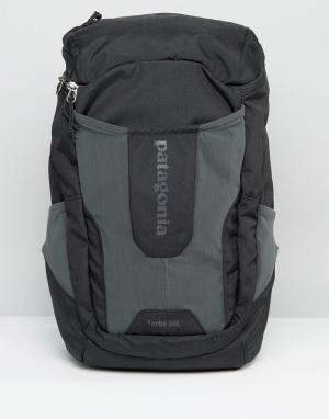 Patagonia Черный рюкзак объемом 24 литра Yerba. Цвет: черный