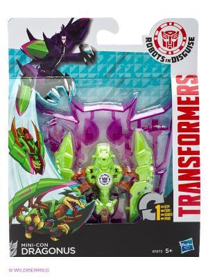 Трансформеры Роботс-ин-Дисгайз Миниконс Hasbro. Цвет: зеленый