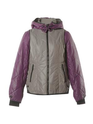 Куртка Mirage-MV. Цвет: серый, фиолетовый