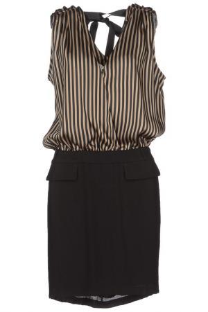 Платье SO ALLURE. Цвет: black and brown