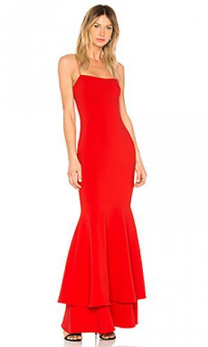 Вечернее платье aurora LIKELY. Цвет: красный