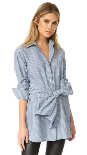 Рубашка Edni Club Monaco. Цвет: синий/белый