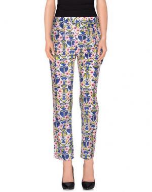Повседневные брюки CUTIE. Цвет: синий