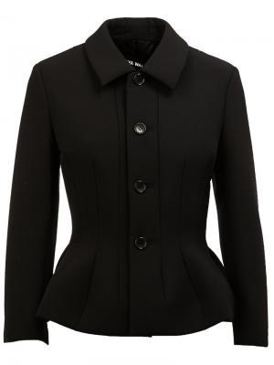Приталенный пиджак Junya Watanabe Comme Des Garçons. Цвет: чёрный
