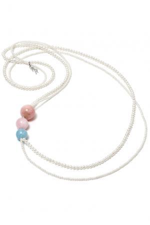 Ожерелье 181714 Nasonpearl. Цвет: белый
