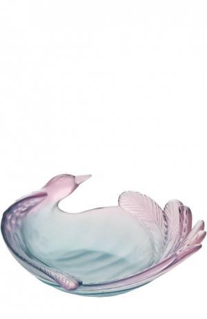 Ваза для фруктов Oiseau De Paradis Daum. Цвет: бесцветный
