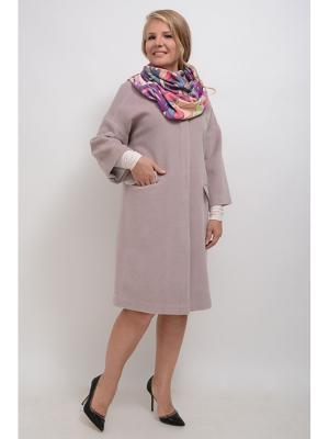Пальто Лауретта LINO RUSSO. Цвет: бледно-розовый
