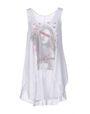 Короткое платье AU SOLEIL DE SAINT TROPEZ. Цвет: белый