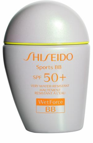 Солнцезащитный BB-крем-спорт, оттенок Medium Shiseido. Цвет: бесцветный