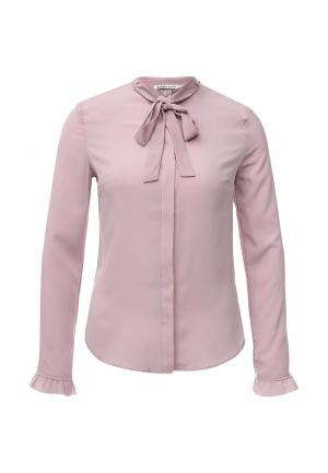 Блуза Zarina. Цвет: фиолетовый