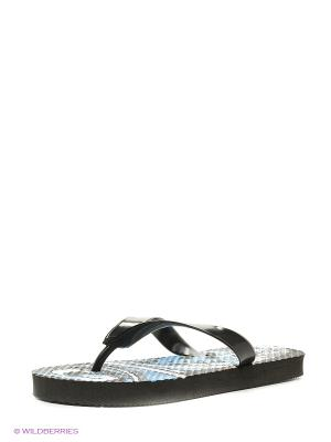 Пляжная обувь детская Mon Ami. Цвет: черный