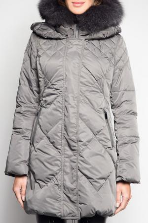 Пальто Giorgio. Цвет: серый