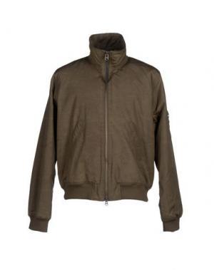 Куртка TIGER OF SWEDEN. Цвет: зеленый-милитари