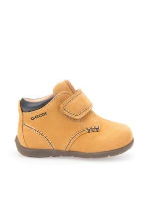 Ботинки GEOX. Цвет: горчичный