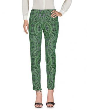 Повседневные брюки E/KOLLINS. Цвет: зеленый