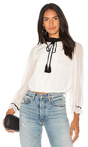 Сплошная блуза emma Carolina K. Цвет: ivory