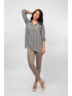 Рубашка Maria Velada. Цвет: хаки