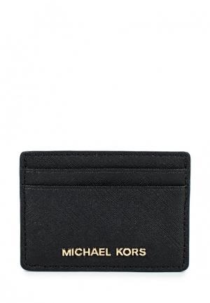 Визитница Michael Kors. Цвет: черный