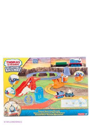 Томас и его друзья Игровой Набор делюкс Раскопки Динозавров THOMAS & FRIENDS. Цвет: синий