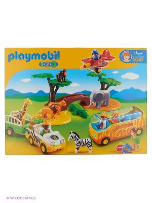 Большое африканское сафари Playmobil. Цвет: желтый