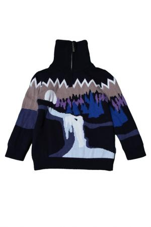 Пуловер Kenzo. Цвет: синий