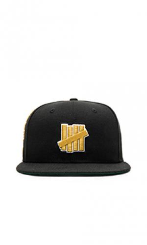 Шляпа 5 strike Undefeated. Цвет: черный
