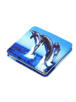 Зеркальце Eleon. Цвет: голубой, синий