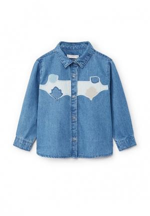 Рубашка джинсовая Mango Kids 13065012