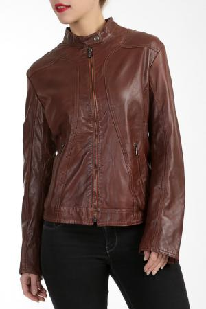 Куртка L.Y.N.N by Carla Ferreri. Цвет: коричневый