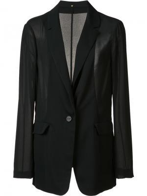 Пиджак Ian Peter Cohen. Цвет: чёрный