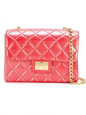 Сумка через плечо Milano Designinverso. Цвет: розовый и фиолетовый