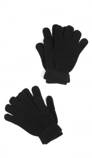 Две Перчатки ТВОЕ. Цвет: черный