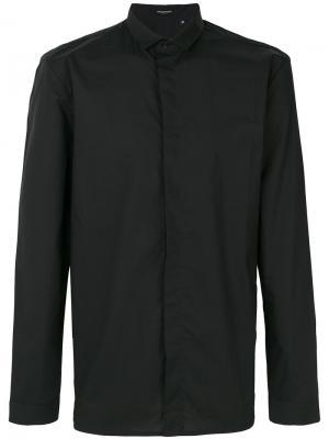Классическая рубашка Unconditional. Цвет: чёрный