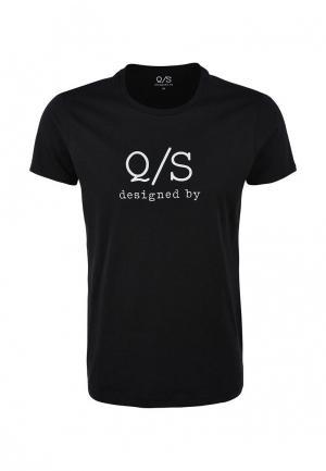 Футболка Q/S designed by. Цвет: черный