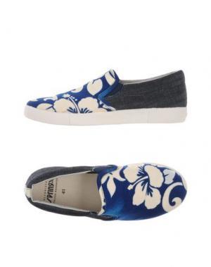 Низкие кеды и кроссовки SPRINGA. Цвет: синий