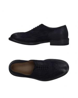 Обувь на шнурках LABORATORIGARBO. Цвет: темно-синий