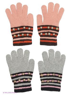 Перчатки FOMAS. Цвет: коралловый, черный, серый, коричневый