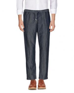 Повседневные брюки PERFECTION. Цвет: синий