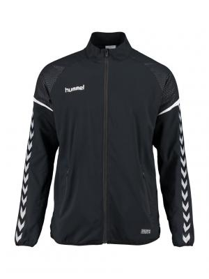 Толстовка AUTHENTIC CHARGE MICRO ZIP JACKET HUMMEL. Цвет: черный
