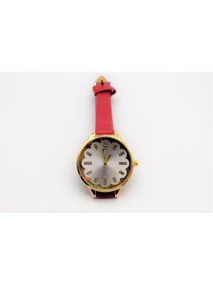 Часы наручные Favorit azur. Цвет: красный