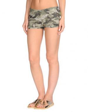 Пляжные брюки и шорты RRD. Цвет: зеленый-милитари